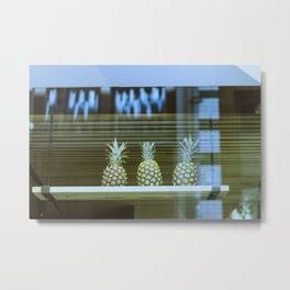 we love pineapples Metal Print