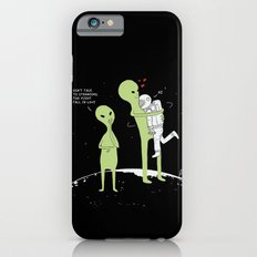 Don't talk to strangers, You might fall in love! Slim Case iPhone 6