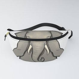 Om meditation elephant Gift Idea Fanny Pack