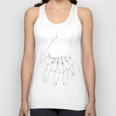 Untitled Hands No.6 Unisex Tank Top