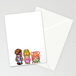 Secret of Mana Characters Stationery Cards