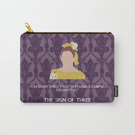 The Sign of Three - Molly Hooper Carry-All Pouch