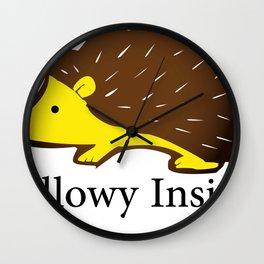 Pillowy Inside Wall Clock