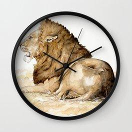 Africa10 Wall Clock