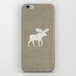 Moose Silhouette iPhone Skin
