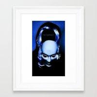 internet Framed Art Prints featuring internet by Luca Finardi