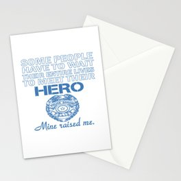 POLICE OFFICER'S DAUGHTER Stationery Cards
