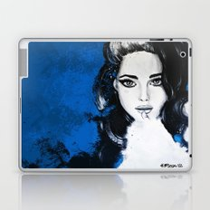 Miss M. in Blue  Laptop & iPad Skin