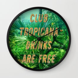 Club Tropicana #1 – A Hell Songbook Edition Wall Clock