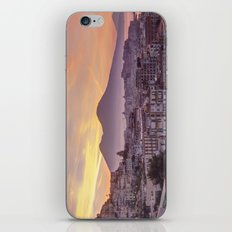 Napoli, landscape with volcano Vesuvio and sea iPhone & iPod Skin