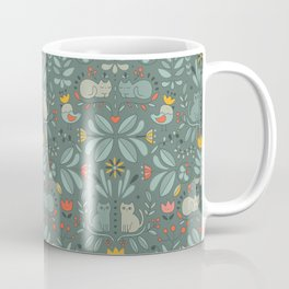 Swedish Folk Cats Coffee Mug