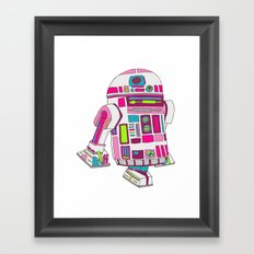 Cool Girls Like Epic Droids Framed Art Print