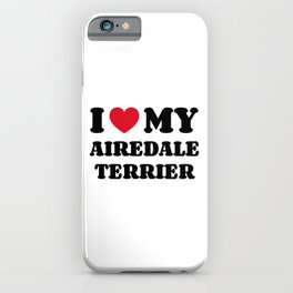 Airedale Terrier iPhone Case