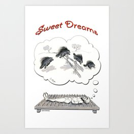 """Sweet Dreams"" Art Print"