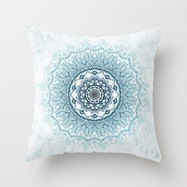 Frankfurter Mandala Throw Pillow