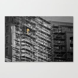 The Scaffold King Canvas Print
