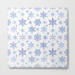 Snowflakes #1 Metal Print