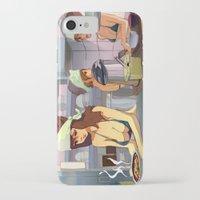 ramen iPhone & iPod Cases featuring Ramen Shop by F. Camiloza