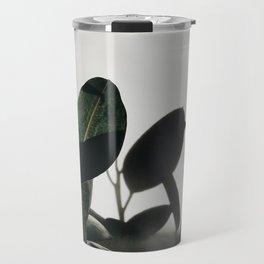 Rubber Tree in Sunlight Travel Mug