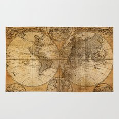 World Map 1746 Rug