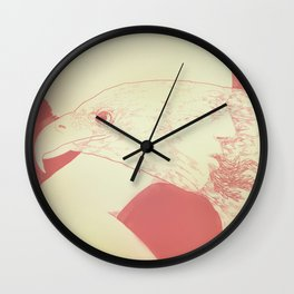 """""""Once I Was an Eagle"""" by Justin Hopkins Wall Clock"""