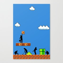 Super Clean Up Canvas Print