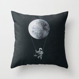 A Big Balloon Throw Pillow
