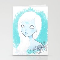 cancer Stationery Cards featuring CANCER ♋ by ⋆ cla ⋆
