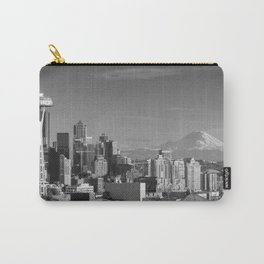 Seattle Winter White Carry-All Pouch