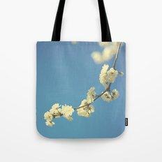 My Vintage blue sky Tote Bag