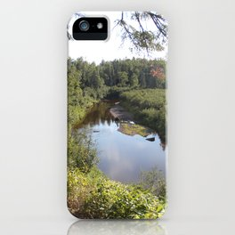 Hiking to Superior iPhone Case