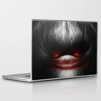 evil Laptop & iPad Skins featuring EVIL by Dr. Lukas Brezak