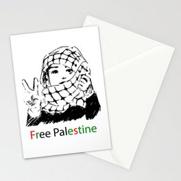 Freedom for Palestine Stationery Cards