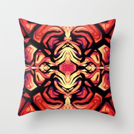 Explosion - Full Color Throw Pillow