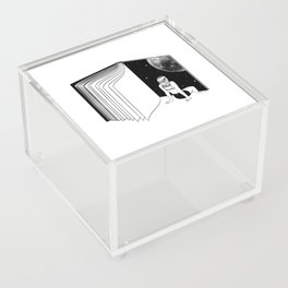 Reading is Dreaming with Your Eyes Open Acrylic Box