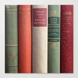Old Books - Square Canvas Print