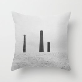 Sydney Park Smokestacks Throw Pillow