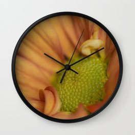 Peachy Mum Wall Clock