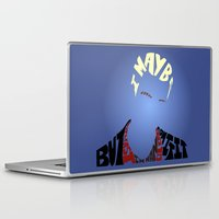 buffy Laptop & iPad Skins featuring Spike - Buffy the vampire slayer by Rebecca McGoran