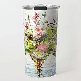 Abundance Of Beauty - Sapphire Blue Ocean Travel Mug