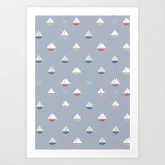 Yacht Art Print