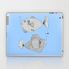 Two Fish Blue Fish Laptop & iPad Skin