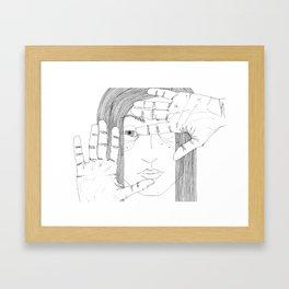 square Framed Art Print