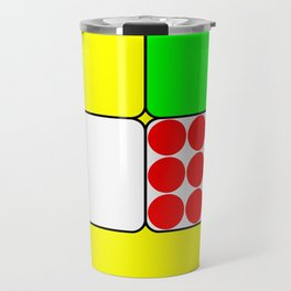 Tour de France Jerseys 3 Yellow Travel Mug