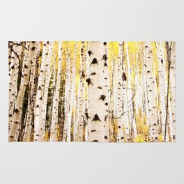 The Trees in Color Rug