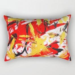 Red&Gold Rectangular Pillow