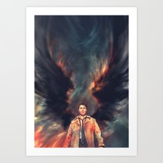 The Angel of the Lord Art Print