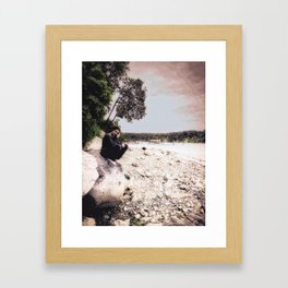 A Friend Who Is Far Away... Framed Art Print