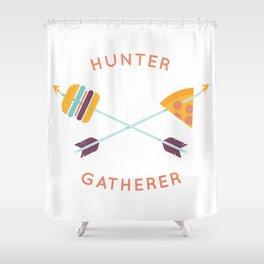 Hunter Gatherer Shower Curtain
