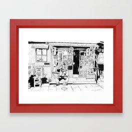 tokyo drinker Framed Art Print
